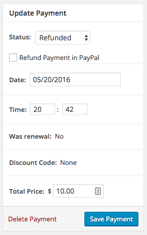 Refund in PayPal