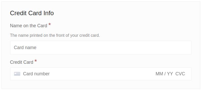 Combined card fields with the Stripe gateway in Easy Digital Downloads