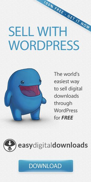 WordPress Ecommerce plugin for digital downloads