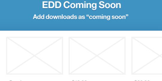 EDD – Coming Soon