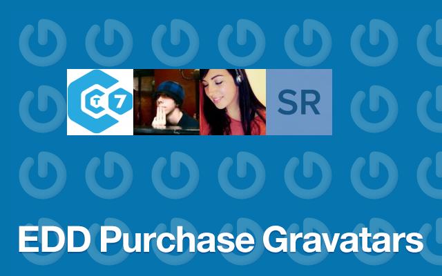EDD Purchase Gravatars