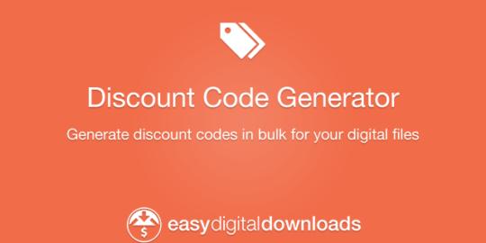 Discount Code Generator