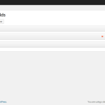 Checkout fields manager UI