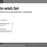 Save products to your existing lists, without leaving the page