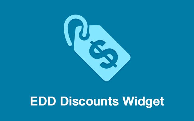 Discounts Widget