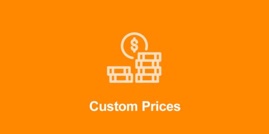 Custom Prices