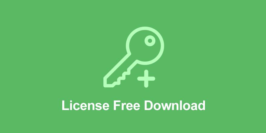 License Free Download