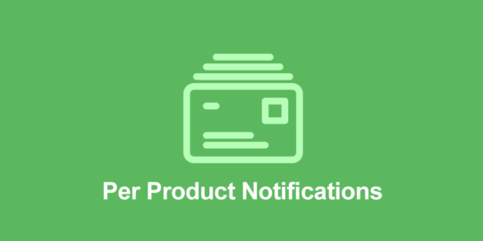 Per Product Notifications