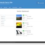Vendor Dashboard - Products in Vendd theme