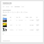Vendor Dashboard - Products in Twenty Twelve theme