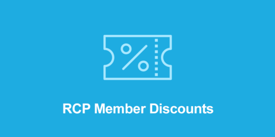 Restrict Content Pro Member Discounts