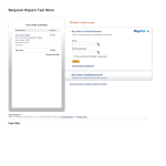 PayPal Express Purchase Page