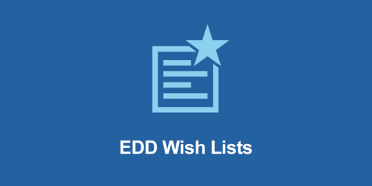 EDD Wish Lists