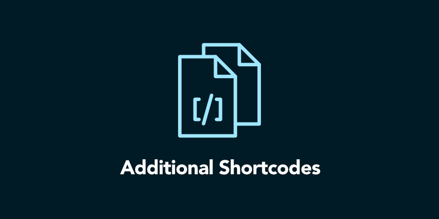 Additional Shortcodes