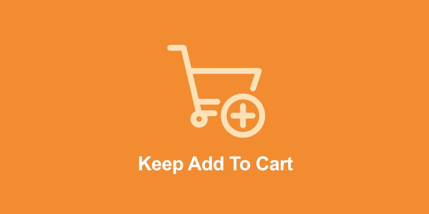 Keep Add To Cart