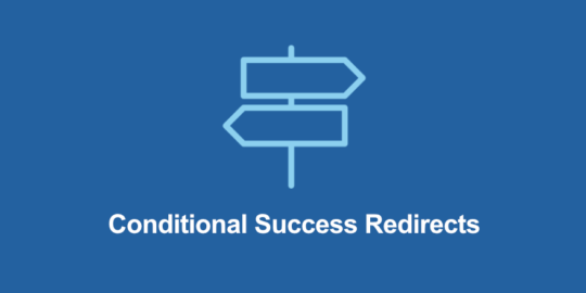 Conditional Success Redirects